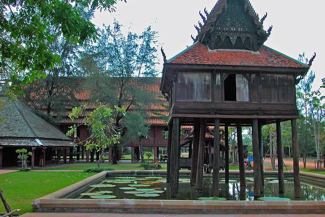 Wat Thung Si Muang วัดทุ่งศรีเมือง from Ubon Ratchathani and the Scripture Repository หอพระไตรปิฎก