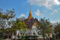 Dusit Maha Prasat Palace in the Grand Palace, Bangkok