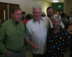 Huell Howser at JTNP 75th Anniversary Reception (2232)