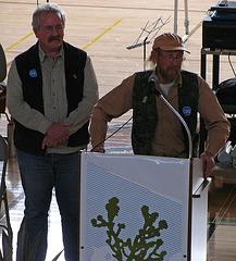 Mark Bagley - Mark Wheeler at JTNP 75th Anniversary Reception (2221)