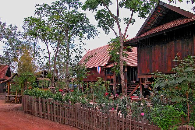 The Northern Thai Village หมู่บ้านไทยภาคเหนือ