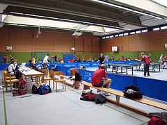 Turnier-Atmosphäre