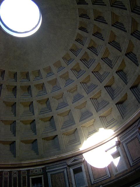 Lucernario del Panteón de Agripa