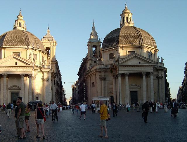 Plaza del Popolo. Roma.