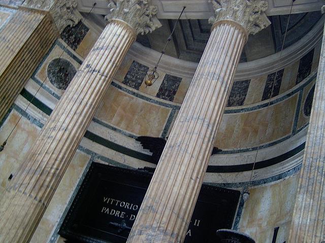 Interior del Panteón de Agripa. 1