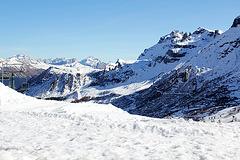 Auf dem Pordoipass, Dolomiten
