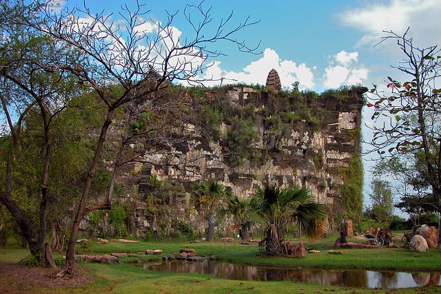 Prasat Phra Wihan (Preah Vihear) near Si Sa Ket  ปราสาทพระวิหาร