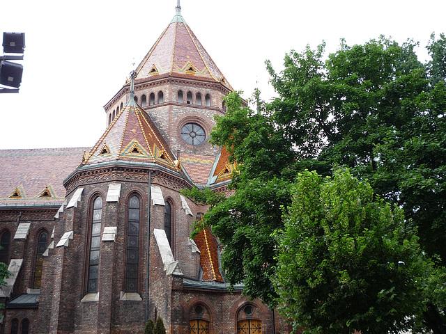 Budapest - Preĝejo en Buda