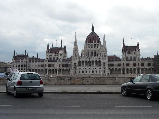 Budapest Országház - Parlamentejo
