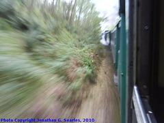 ex-CSD #498.022 Blurred near Rakovnik, Bohemia (CZ), 2010