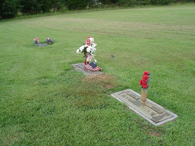 Chickasaw memorial gardens /  Mississippi, USA - 9 juillet 2010
