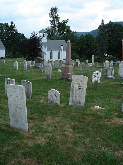 St-Thomas episcopal church's cemetery / Vernon, New-Jersey (NJ). USA / 21 juillet 2010.