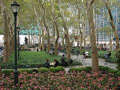 New-York Bryant park