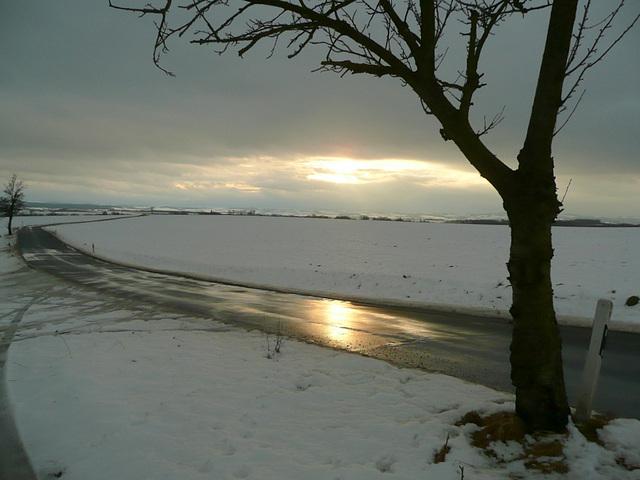 Licht über Schnee und Eis - lumo super neĝo kaj glacio