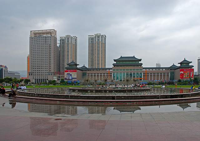 Xining around the Public Park