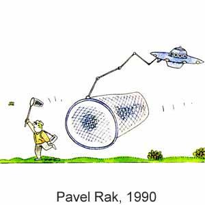 Pavel Rak - humuraĵo