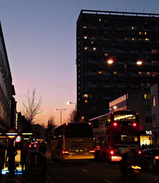 Notting Hill twilight