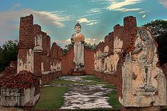 Dvaravati Wihan วิหารทวารวดี