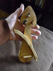 Petit violon acheté en Bulgarie