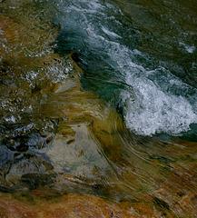 Reflets sur l'eau N°3 : la vague