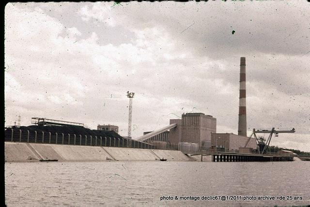 la centrale electrique de strasbourg en 68