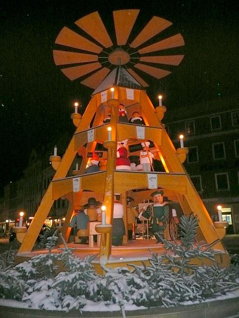 Weihnachtspyramide in Pirna -