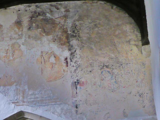 yarnton church  wall paintings, c16