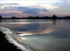 le Ried inondé et glacé : la Création