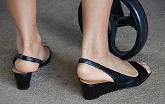 Bandolino wedge heels