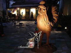 Coq fétichiste / Fetishist rooster - Création LeoKris.