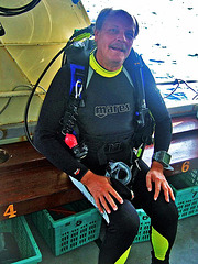 Ready for the next dive