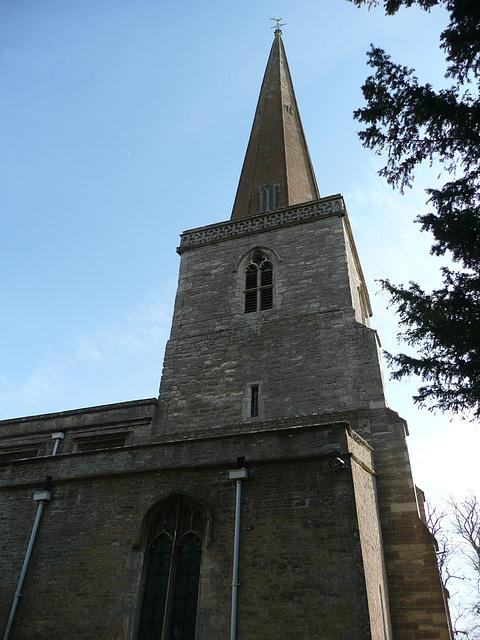 church hanborough tower