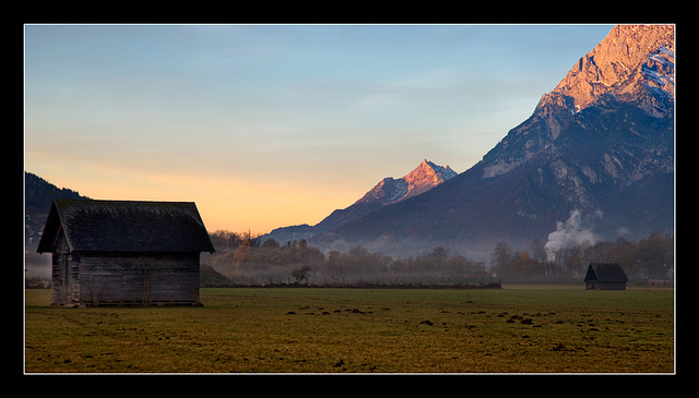 a morning in Upper Styria