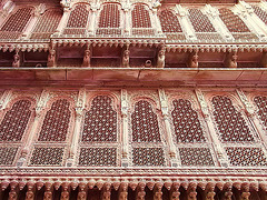 IMG 3499cc Bikaner Maharaja's Palace Windows