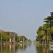 The straightaway Khlong Saen Saeb