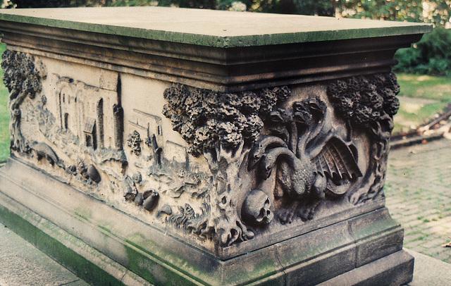 lambeth, st.mary 1638 tradescant's tomb