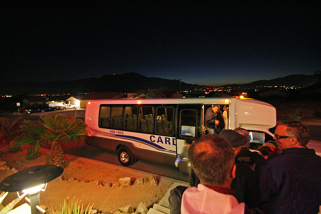 Tour Bus Arriving at Living Waters Spa - DHS Spa Tour 2011 (8849)