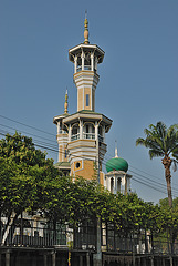 Minarets of the Salimunyinam Mosque
