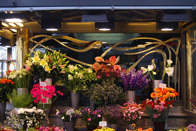 Flower shop with style