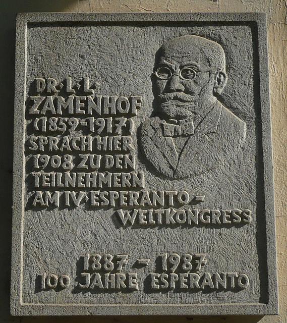 Heute vor 151 Jahren wurde Dr L.L. Zamenhof in Bialystock geboren