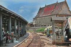 Railway station in Banlaem