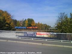 Freight Train, Hostivar, Prague, CZ, 2010