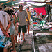 Maeklong market with reasonable prices