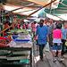 Talad Rom Hoop market in Maeklong