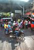 Way into the railway station in Maeklong