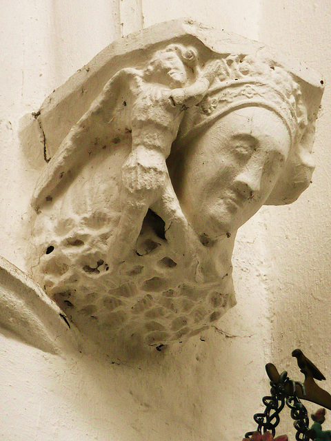 thaxted 1340 nave corbel