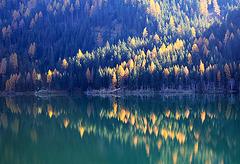 Lago di Zoccolo im Ultental in Südtirol