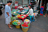 Evening market in Samut Sakhon