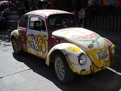 Carcacha VW.