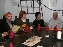 """Essen im Kellerrestaurant """"Pulverturm"""""""